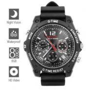 Водонепроницаемые часы со скрытой HD камерой + 4 GB.