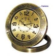 Стильные металлические часы с камерой и датчиком движения.